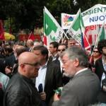 Sergio Cofferati e Piero Graglia - 25 aprile